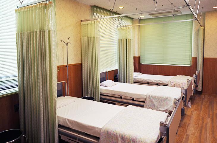 外来化学療法室 写真